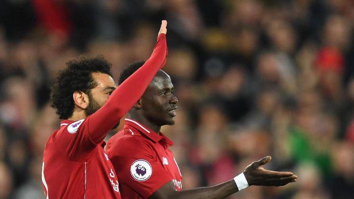 Mohamed Salah dan Sadio Mane mengangkat harkat pemain Afrika saat ini (Michael Regan/Getty Images)