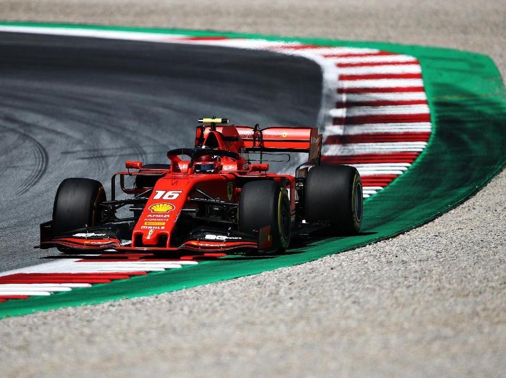 Leclerc Kuasai FP2 GP Austria