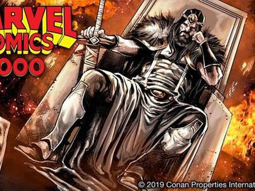 Petualangan Conan Terbaru Hadir di Komik Marvel #1000
