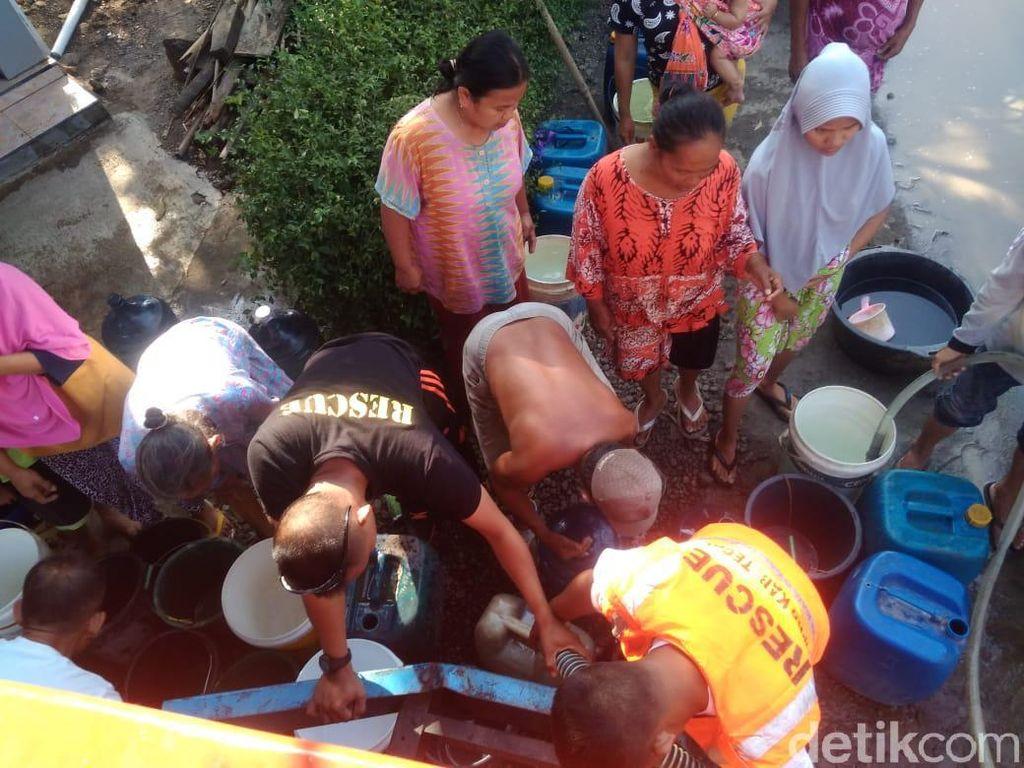 Puluhan Desa di Tegal Mulai Kekurangan Air Bersih