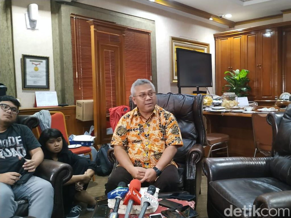 KPU Harap Prabowo-Sandi Datang Saat Penetapan Capres-Cawapres Terpilih
