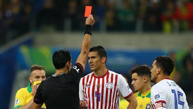 Hasil Copa America: Menang Adu Penalti atas Paraguay, Brasil ke Semifinal