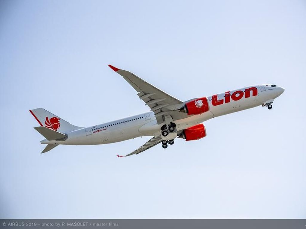 Lion Air Gunakan Armada A330-900 NEO Buat Penerbangan Panjang