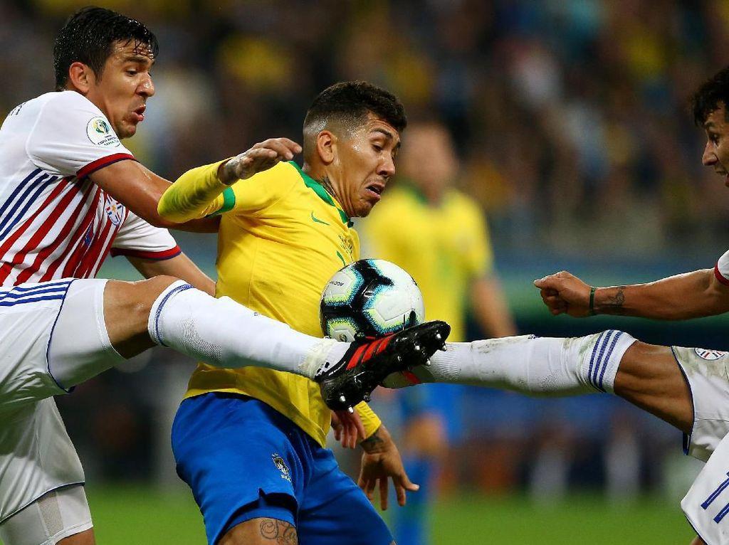 Brasil vs Paraguay: Tim Samba Putus Catatan Buruk Adu Penalti