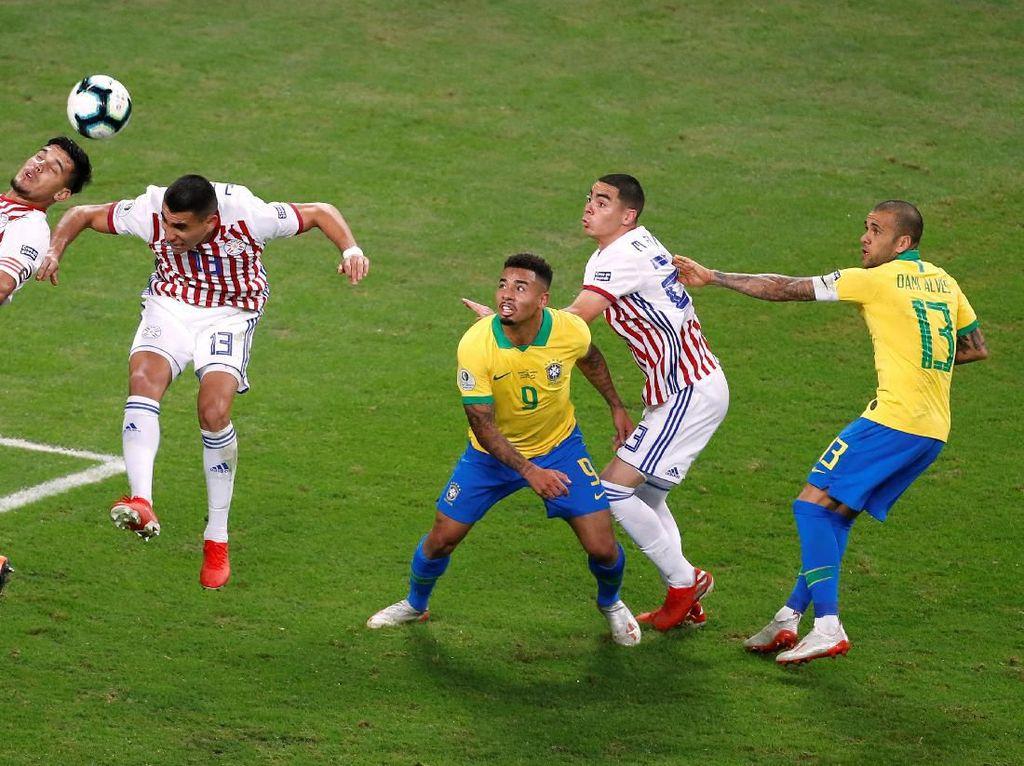 Brasil vs Paraguay: Dominasi Selecao Berujung Adu Penalti
