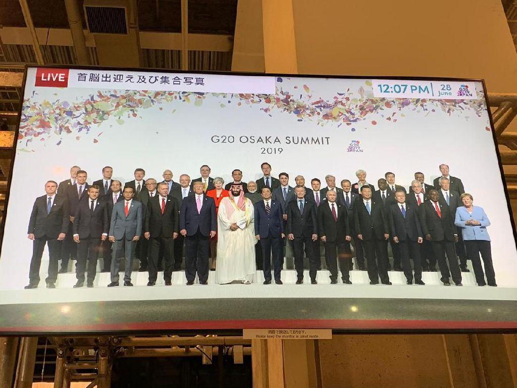 Jokowi Banjir Ucapan Selamat Menang Pilpres dari Pemimpin Dunia di G20
