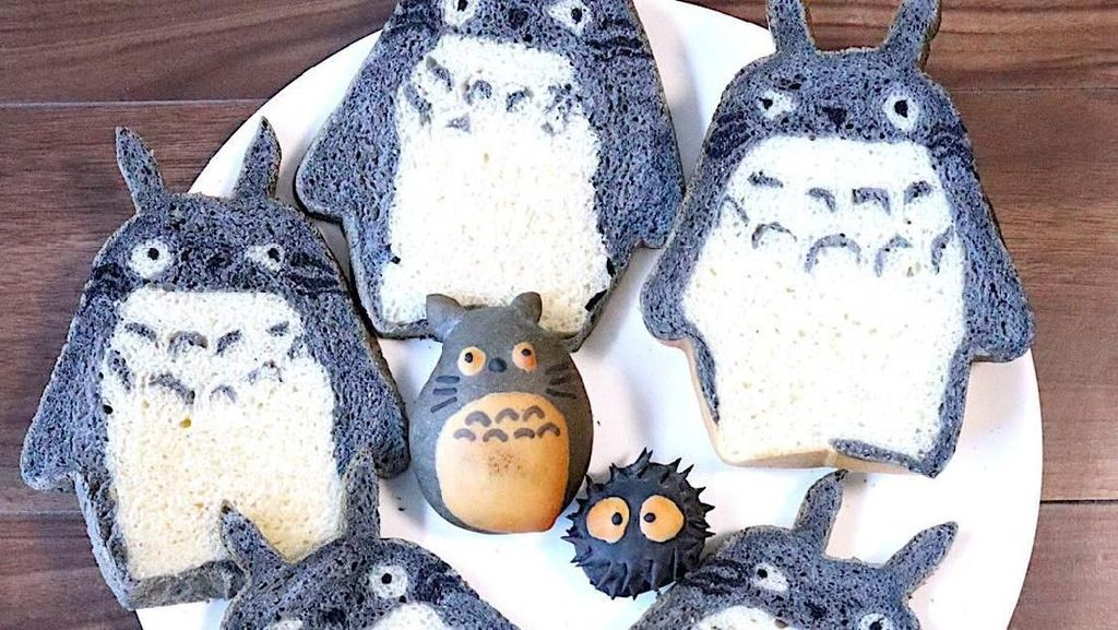 Keren! 10  Kreasi Roti Tawar Super Cute Bikinan Baker Jepang