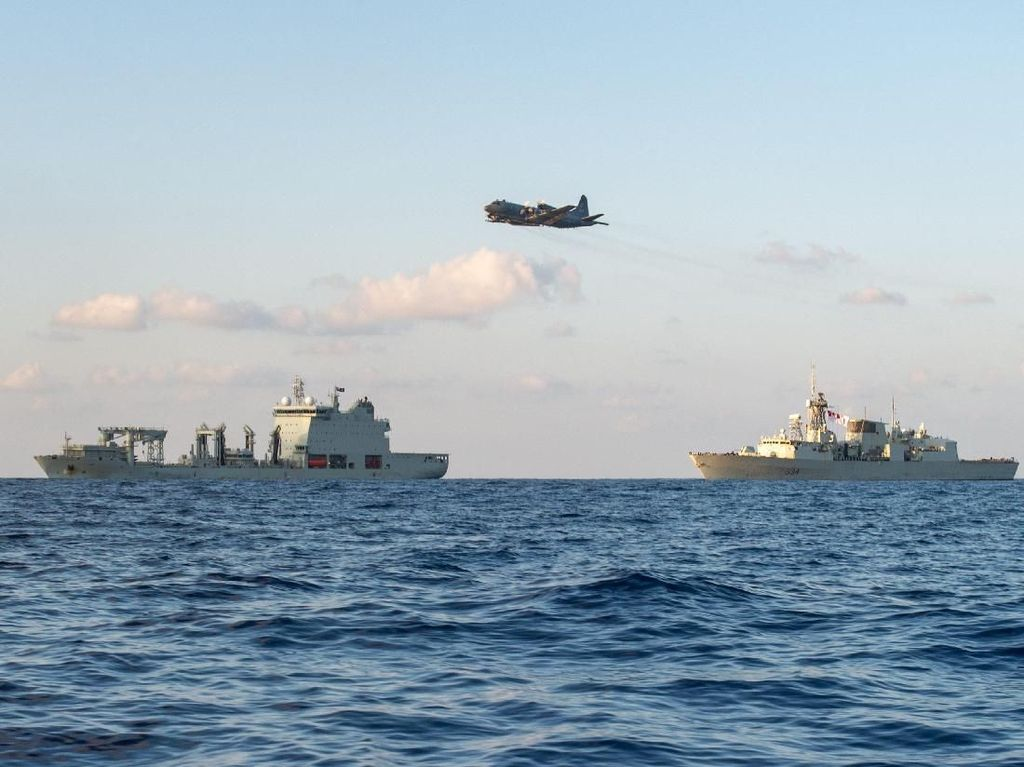 Kanada Klaim Kapal Militernya Kena Dengungan Jet Tempur China