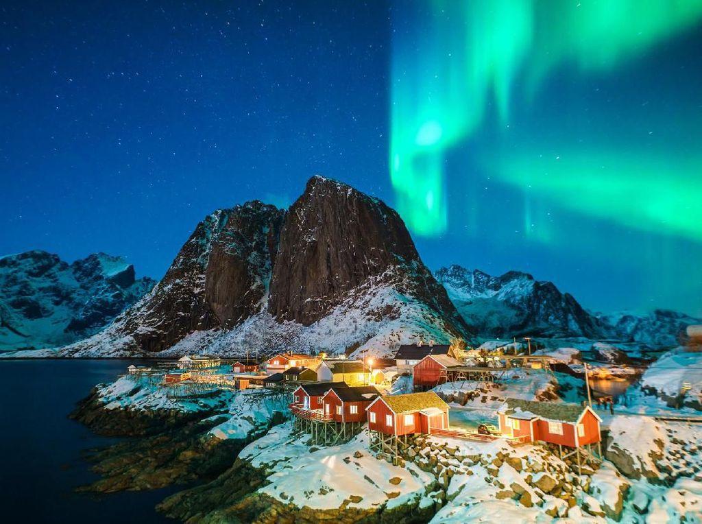 Foto: Negeri Aurora yang Percaya Peri