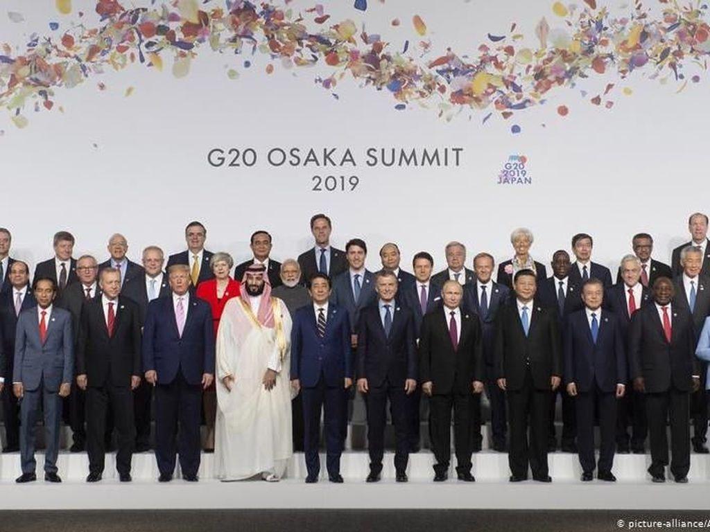 Perang Dagang, Iran dan Perubahan Iklim Jadi Bahasan Utama KTT G20