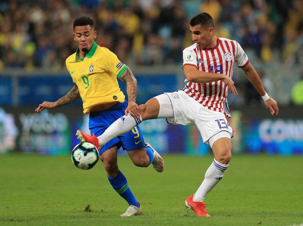 Video: Brasil ke Semifinal Usai Adu Tos-tosan Lawan Paraguay