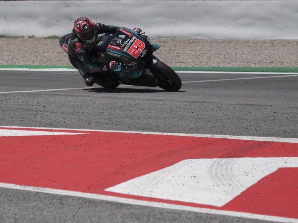 FP1 MotoGP Belanda: Quartararo Tercepat, Marquez Keenam, Lorenzo Crash