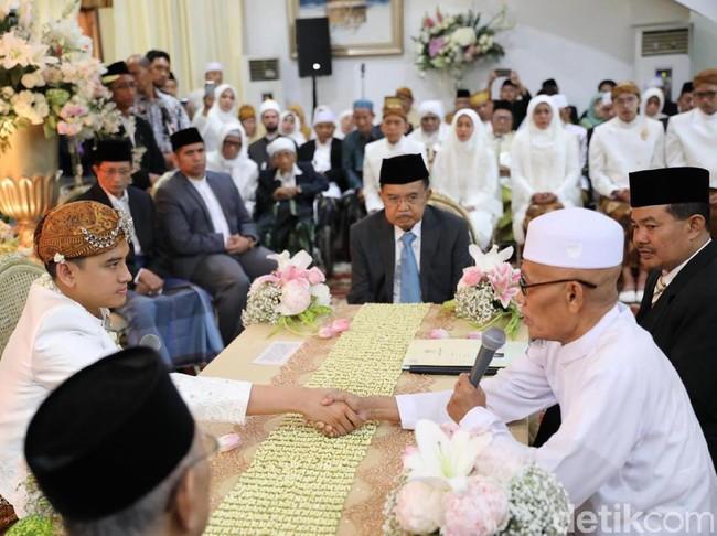 Sah, Wapres Jusuf Kalla Jadi Saksi Pernikahan Putri Gubernur Khofifah