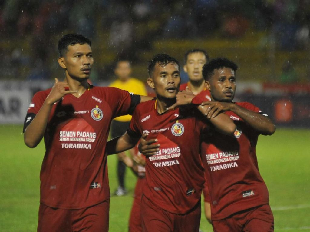 Minim Kualitas, Semen Padang Kepayahan di Paruh Pertama Liga 1 2019