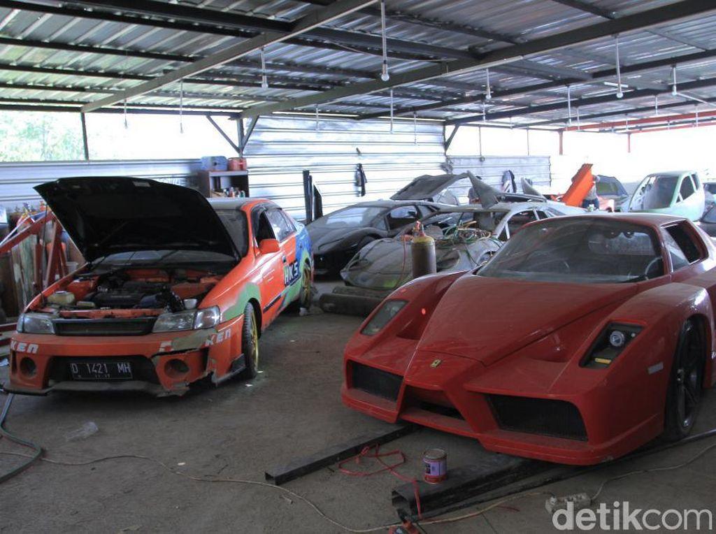 Lamborghini dan Ferrari Made in Bandung