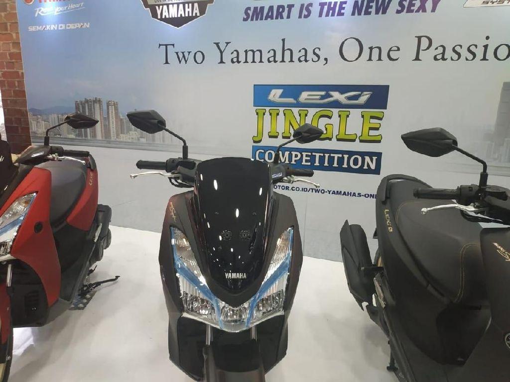 Yamaha Lexi dengan Sentuhan Warna Emas, Jadi Lebih Wah