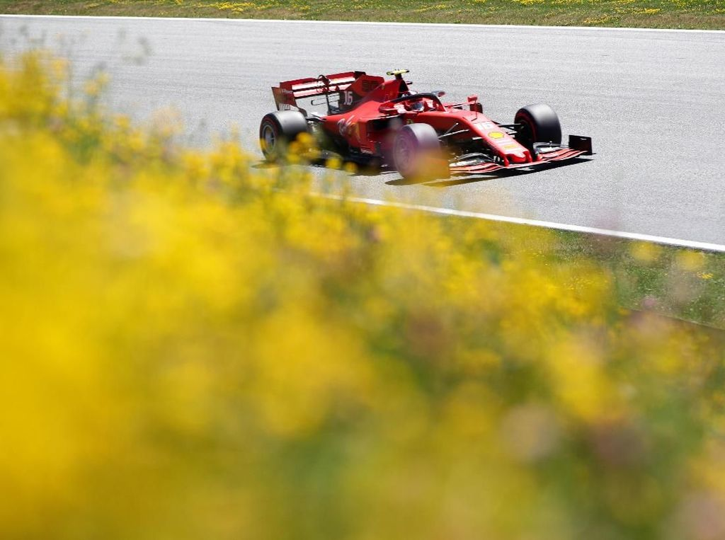 Leclerc Tercepat Lagi di Sesi Latihan Bebas Ketiga GP Austria