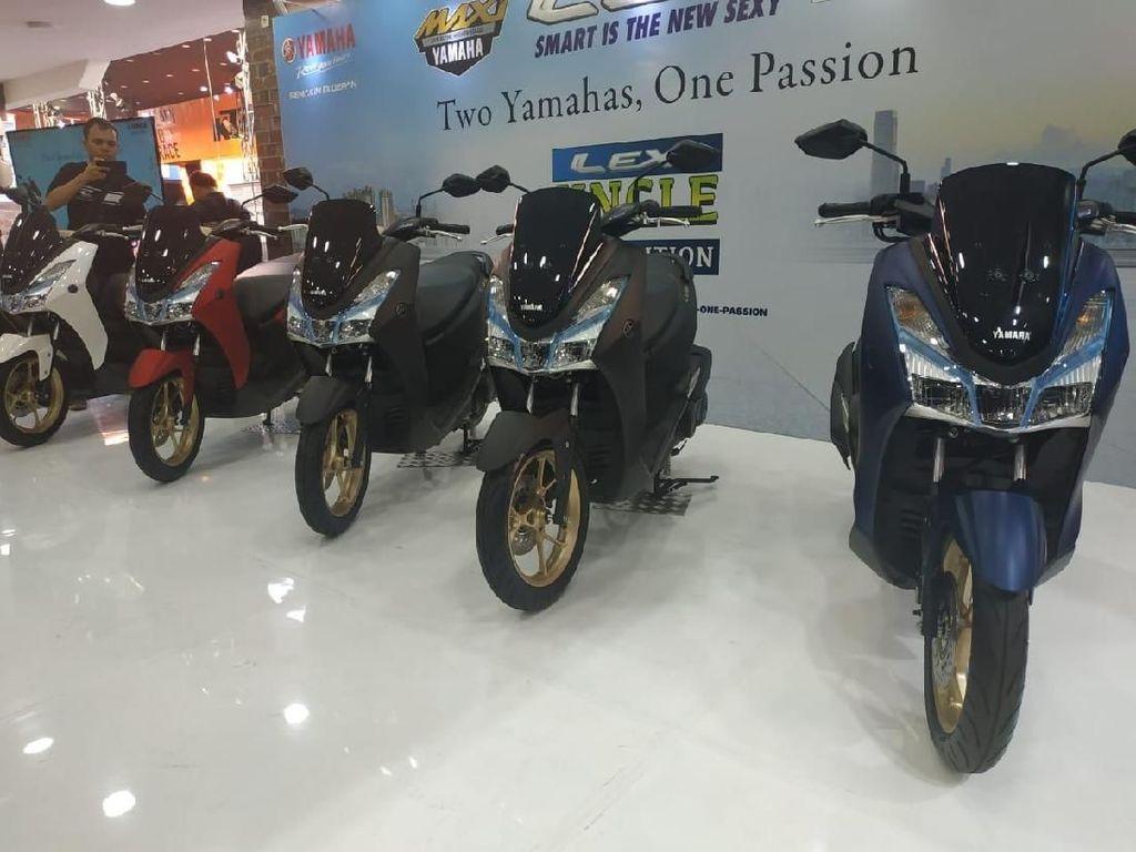 Yamaha Lexi Dapat Sentuhan Premium, Banderol Tidak Naik
