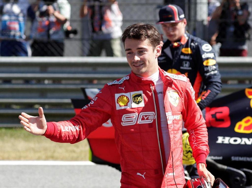 Kualifikasi F1 GP Austria: Kalahkan Hamilton, Leclerc Raih Pole