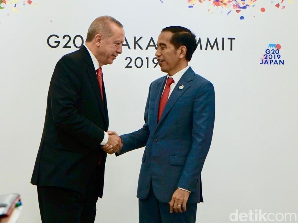 Jokowi Cerita Putusan Sengketa Pilpres di MK, Erdogan Ucapkan Selamat