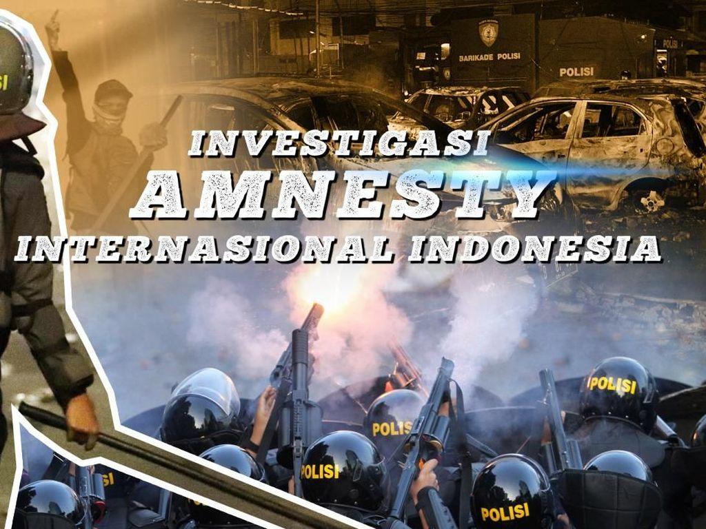 Temuan Sederet Dugaan Pelanggaran HAM di Penanganan Aksi 21-22 Mei