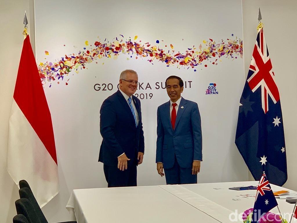 Jokowi Dorong Peningkatan Kerja Sama Bidang Pendidikan Vokasi dengan Australia