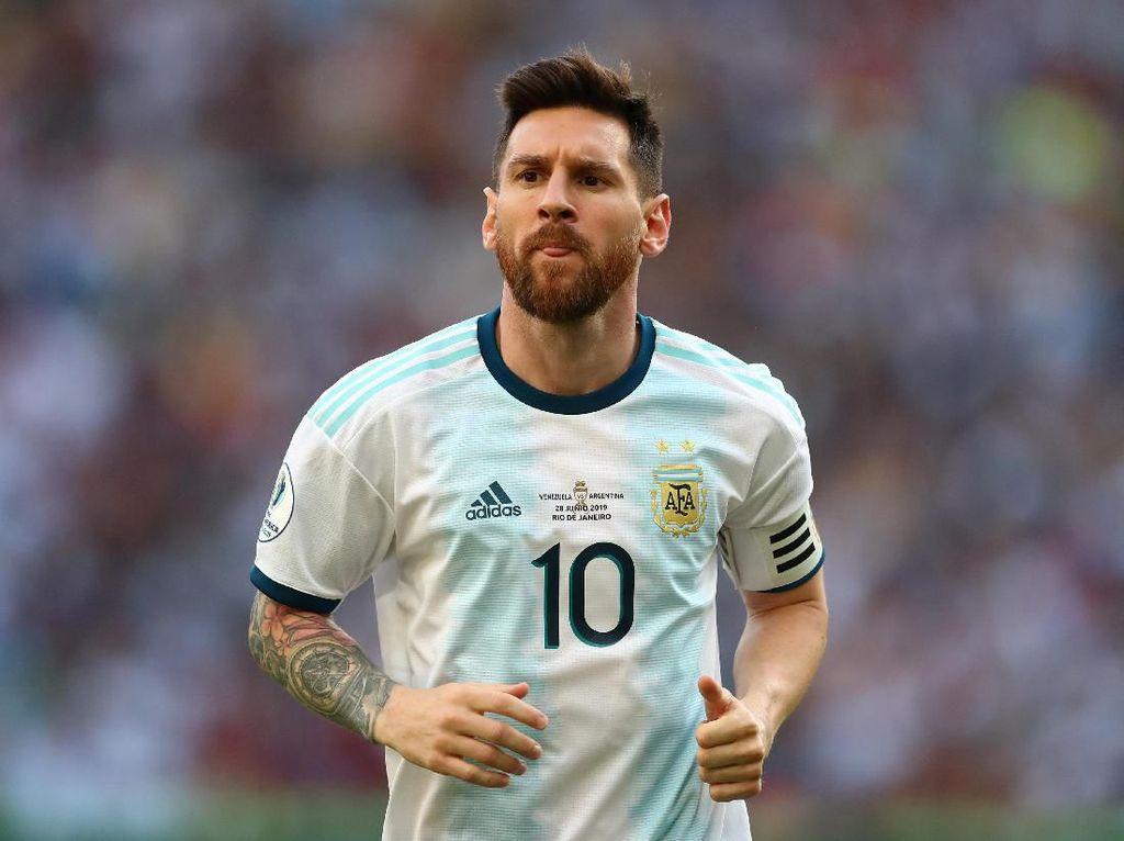 Messi Akui Performanya Belum Memuaskan di Copa America 2019