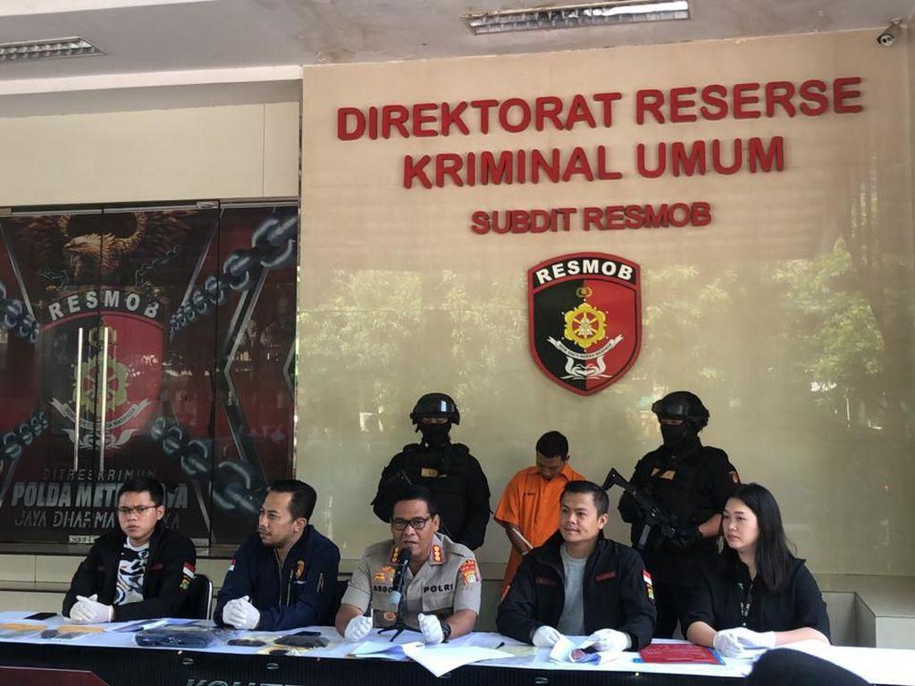 Drama Perampokan Penumpang Taksi Online: Diikat Tali-Dibekap Kaus Kaki