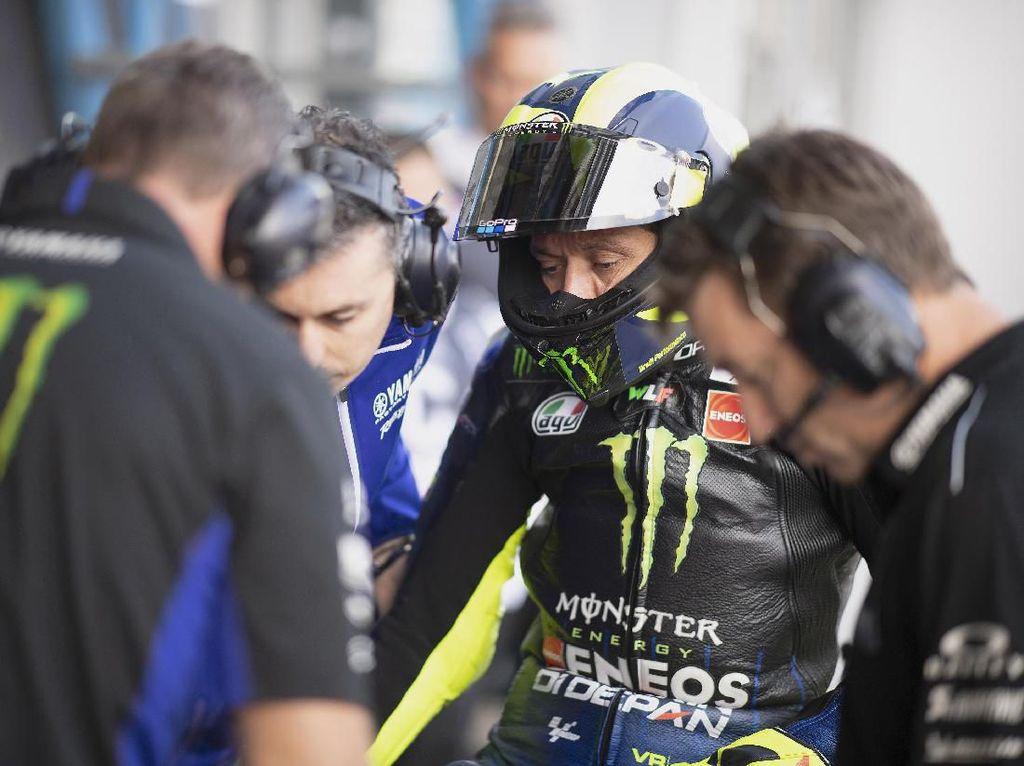 Banyak PR Valentino Rossi Menuju Balapan MotoGP Belanda