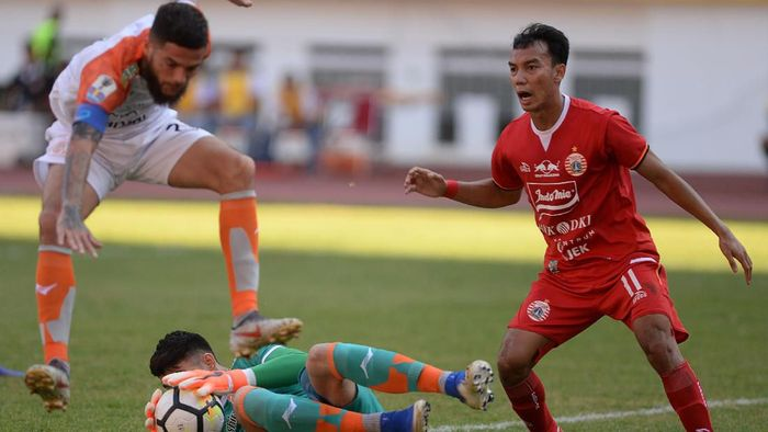 Borneo FC jumpa Persija Jakarta di leg kedua semifinal Piala Indonesia. (Foto: Antara Foto)