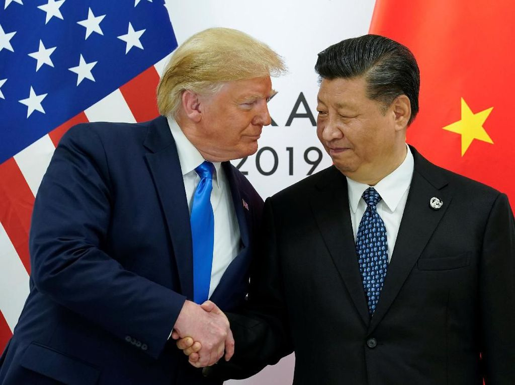 Trump-Xi Jinping Berunding soal Perang Dagang, AS-China Damai?
