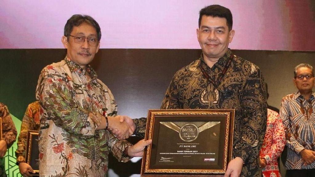 Bank DKI Raih Penghargaan BPD Terbaik