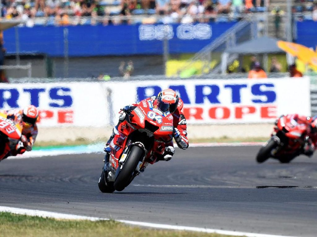 Kegagalan Ducati Bukan Salah Dovizioso, tapi Karena Marquez