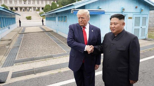 Temu Trump-Kim Jong-un, Antara 'Angin Surga' dan Pencitraan