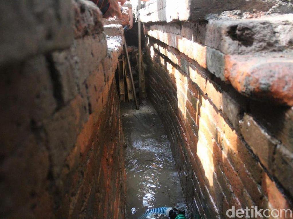 Bangunan Mirip Kanal Zaman Majapahit Ditemukan Warga Jombang