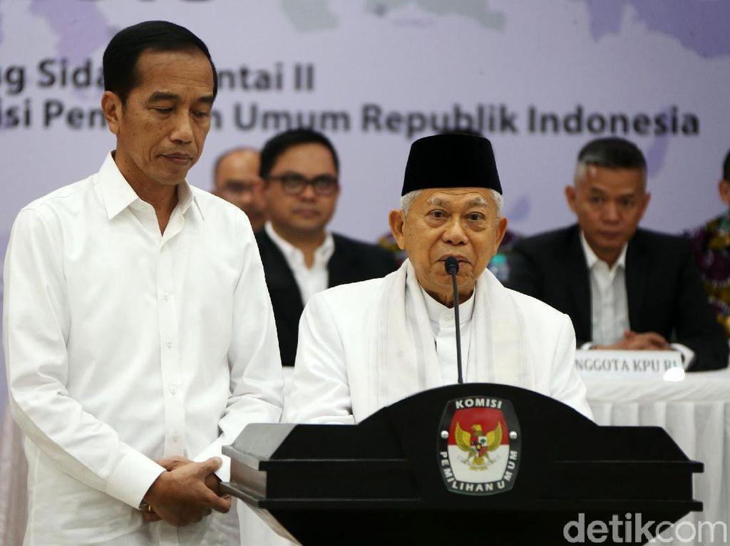 Maruf Amin: Jokowi Harap Prabowo Datang di Pelantikan