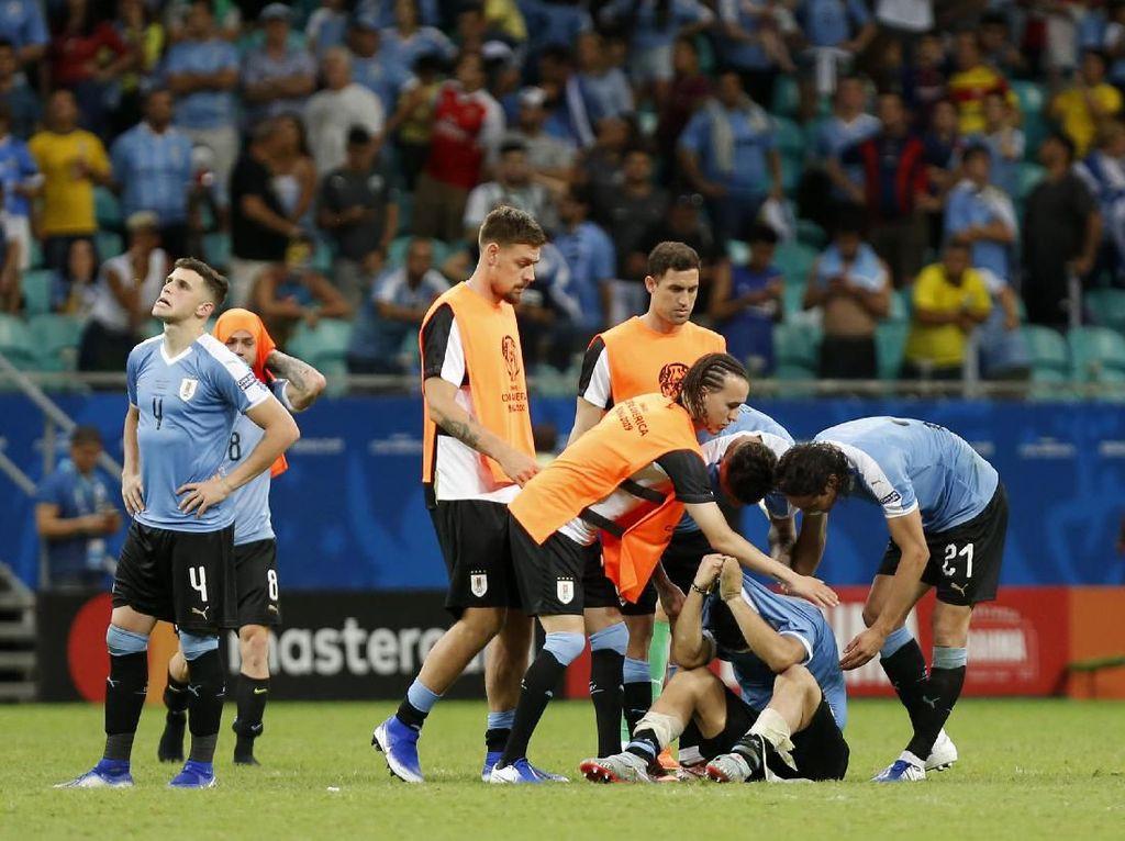 Uruguay vs Peru: La Celeste Tersingkir Saat Main Bagus