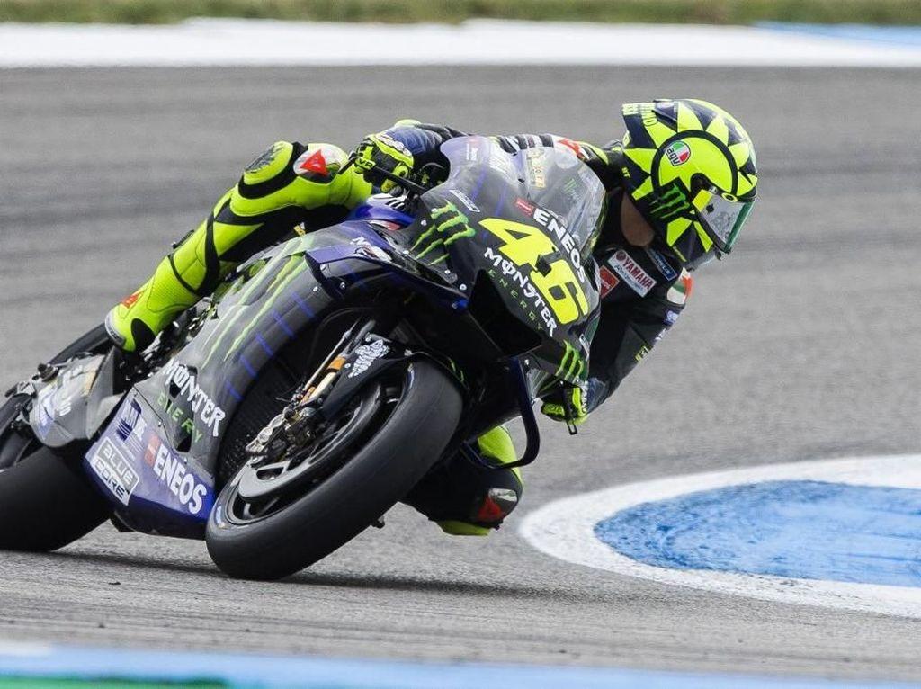 Rossi Tak Bisa Jelaskan Performa Buruknya di Kualifikasi MotoGP Belanda