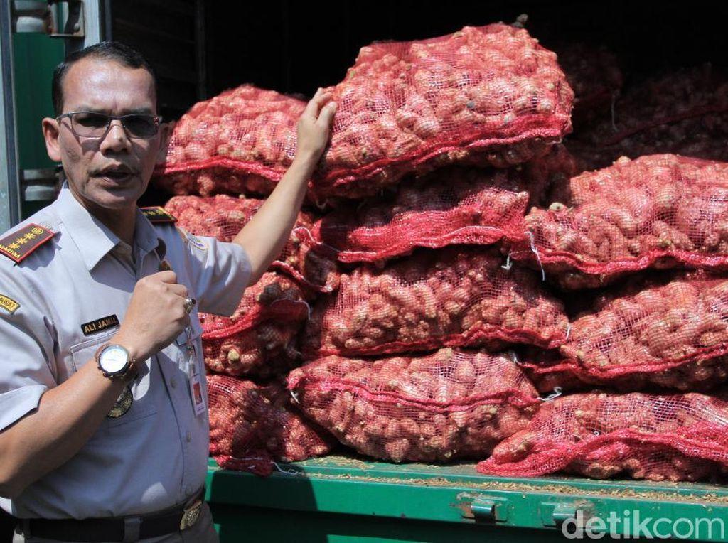 Dua Kontainer Produk Pertanian Jabar Diekspor, Jahe Jadi Unggulan