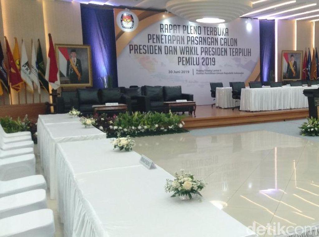 KPU Bersolek Jelang Penetapan Presiden Terpilih