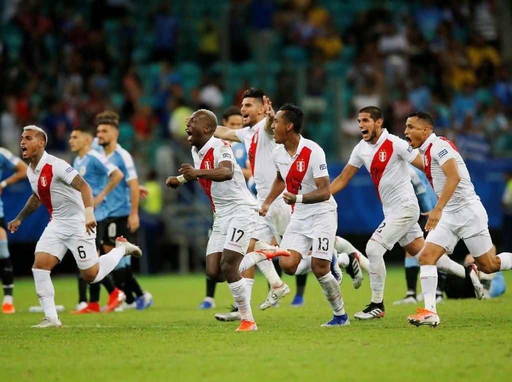 Video Kalah Adu Pinalti, Uruguay Kandas dari Copa America 2019