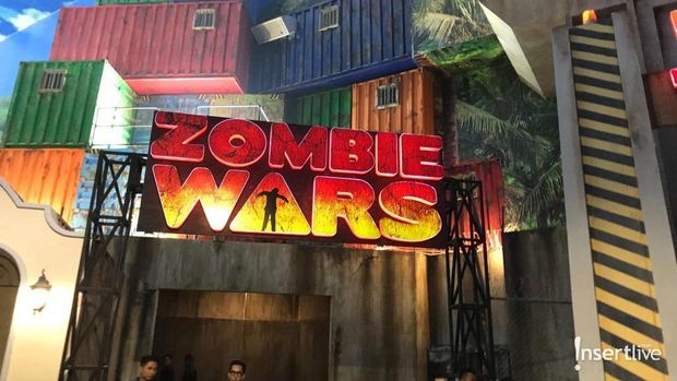 Wahana Zombie Wars di Trans Studio Cibubur