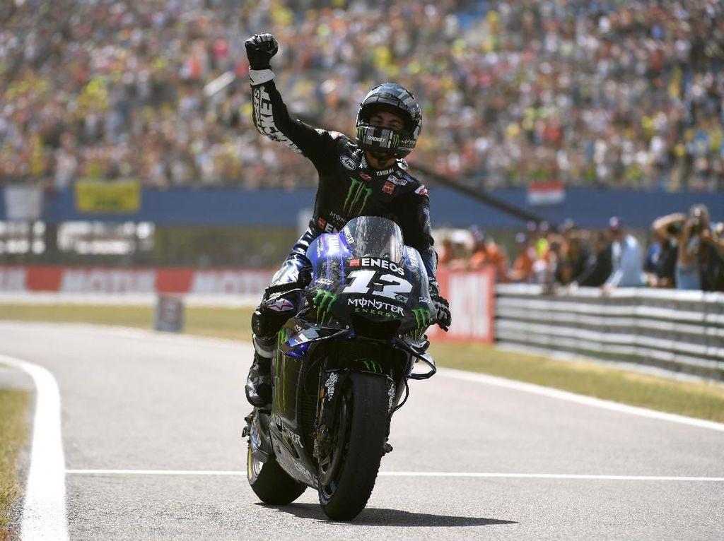 Jadi Pebalap Teratas Yamaha Pertanda Baik untuk Maverick Vinales