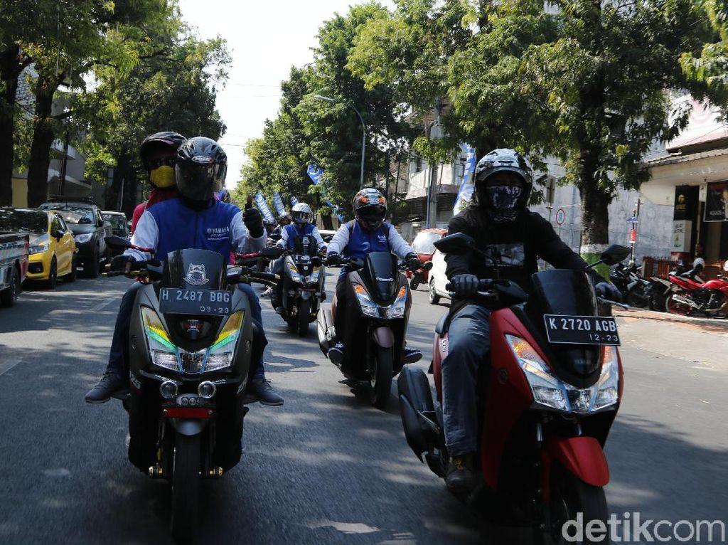 Puluhan Motor Ikuti City Touring Kudus
