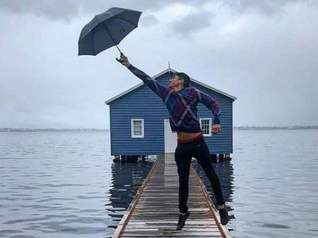 Rumah Mungil Biru di Perth yang Jadi Incaran Turis Asia Untuk Ber-selfie