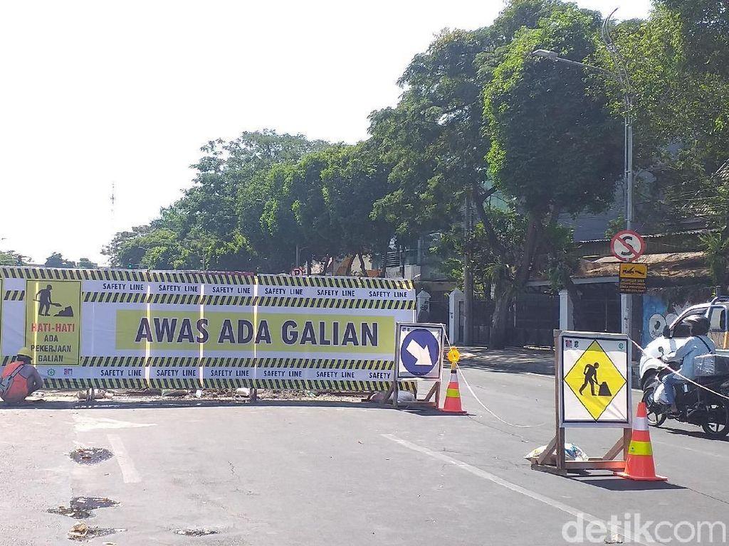 Tes PIT Alun-alun Suroboyo, Hari Ini Jalan Yos Sudarso Ditutup 4 Hari