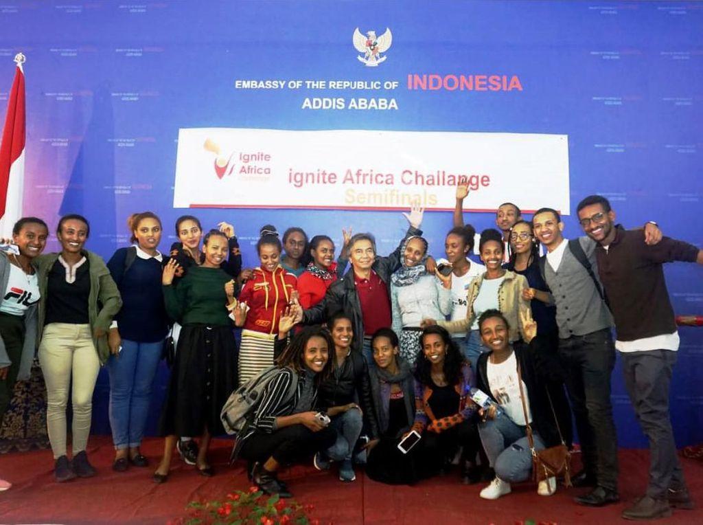 Saat Para Inovator Muda Ethiopia Mondok di KBRI Addis Ababa
