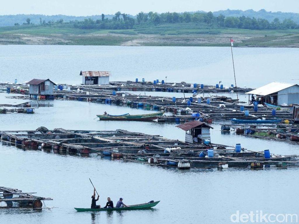 Perahu Wisata Terbalik di Waduk Kedungombo Boyolali, 9 Orang Hilang