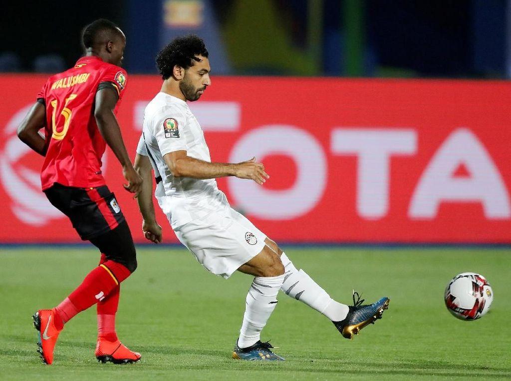Piala Afrika 2019: Gol Tendangan Bebas Salah Bantu Mesir Tekuk Uganda 2-0