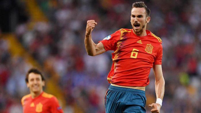 Fabian Ruiz bersinar terang di Piala Eropa U21 (Alberto Lingria/REUTERS)